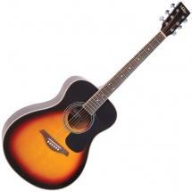 Vintage Guitars V300vsb Solid Top Vintage Sunburst