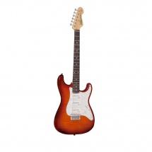 Vintage Guitars V6hpfcb Flame Cherry Burst
