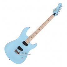 Vintage Guitars V6m24lb Laguna Blue