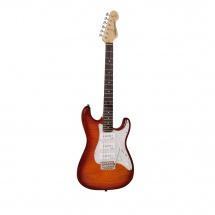Vintage Guitars V6pfcb Flame Cherry Burst