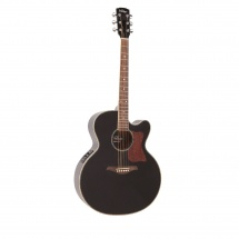 Vintage Guitars Vecj100bk Gloss Black
