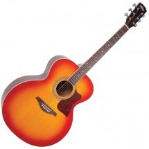 Vintage Guitars Vj100csb Cherry Sunburst