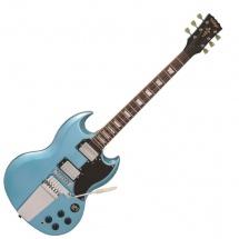 Vintage Guitars Vs6vghb Gun Hill Blue