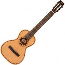Vintage Guitars Vtr800vc Viator Travel Guitar By Paul Brett  Nylon Strings Natural