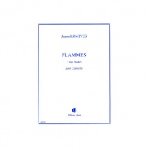 Komives Janos - Flammes - Clarinette
