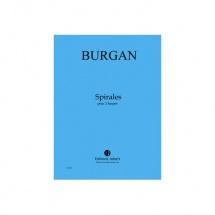 Burgan Patrick - Spirales - 2 Harpes