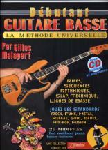 Debutant Guitare Basse Rebillard Tab + Cd