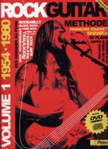 Rock Guitar Methode Rebillard Vol.1 1954/1980 + Cd + Dvd - Guitare