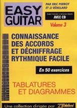 Rebillard - Easy Guitar Vol.3 + Cd