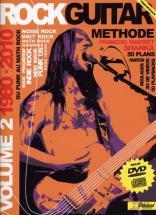 Rock Guitar Methode Rebillard Vol.2 1980/2010 + Cd + Dvd - Guitare