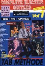 Rebillard - Complete Electric Guitars Vol.1 + Cd