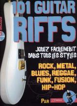 Rebillard - 101 Guitar Riffs + Cd