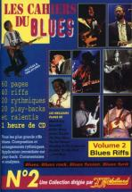 Cahiers Du Blues Vol2 - Blues Riff +  Cd - Guitare