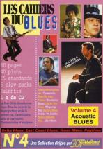 Cahiers Du Blues Vol4 - Acoustic Blues +  Cd - Guitare