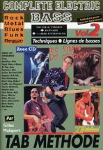 Malapert G. - Complete Electric Bass Vol.2 + Cd - Basse
