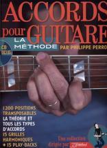 Perron P. - Accords Pour Guitare - 1200 Positions Transposables + Cd