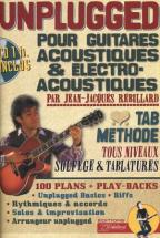 Unplugged Guitares Acoustiques + Cd