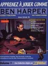 Apprenez A Jouer Comme Ben Harper + Cd - Guitare