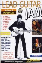 Lead Guitar Jam Vol.3 - Unplugged + Cd - Guitar Tab