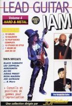 Lead Guitar Jam Vol.4 - Hard Et Metal + Cd - Guitar Tab