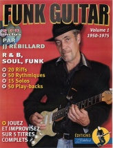 Rebillard J.j - Funk Guitar 1950-1975 Vol.1 + Cd