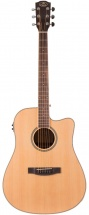 Prodipe Guitars Sd28 Nat Wb Ceq Dreadnought