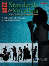 Jazz Standards For Vocalists With Combo Accompaniment - Vocal Part
