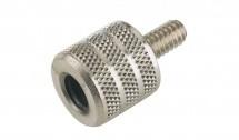 K&m 21920-000-01 Adaptateur De Filetage Nickel Pour Pied De Microphone
