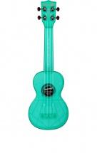 Kala The Waterman Soprano Plastique Abs Fluorescent Transparent Blue