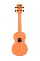 Kala The Waterman Soprano Plastique Abs Fluorescent Transparent Orange