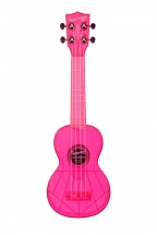 Kala The Waterman Soprano Plastique Abs Fluorescent Transparent Pink