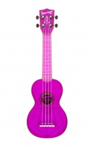 Kala The Waterman Soprano Plastique Abs Fluorescent Transparent Purple