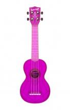 Kala The Waterman Soprano Plastique Abs Fluorescent Transparent Purple