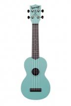 Kala Ka-swg-bl Soprano Standard The Waterman Phosphorescent Aqua Blue Blue