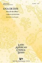 Guastavino Carlos - Una De Dos Satb and Piano - #6 From Indianas
