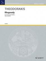 Theodorakis M. - Rhapsody - Clarinette