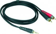 Klotz Ay7-0100 Enregistrement Mobile Out Câble Y Noir 1 M