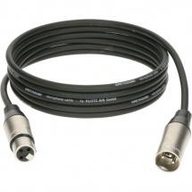 Klotz Greyhound Mic Cable Noir 0,5m Xlr 3p. F/m Klotz Xlr