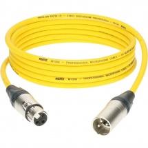 Klotz M1 Mic Cable Jaune 20m Xlr 3p. F/m Neutrik