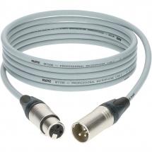 Klotz M1 Mic Cable Gris 15m Xlr 3p. F/m Neutrik