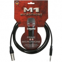 Klotz Mbms1x0300 Cable Audio Symetrique My206 Noir 3,0 M