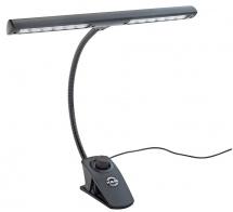 Km 12295 - Lampe Pour Pupitre  -noir - Cable 3m - 2x6 Leds