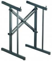 Kandm 42040-000-55 Stand Noir Pour Console 480x525mm 40kg Max