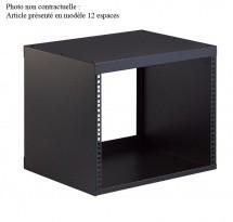 Kandm 48240-008-55 Rack Noir 8 Espaces