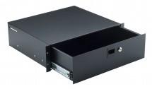 K&m 49123-073-55 Tiroir Rackable 3u Noir