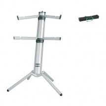 Kandm 18860-000-30 Stand Aluminium Anodise Spider Pro Pour Clavier Avec Extension 2me Clavier + Housse