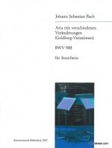 Bach J.s. - Aria Mit Verschiedenen Veranderungen (goldberg Variationen) Bwv 988 - String Trio