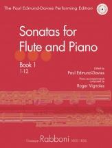 Rabboni Giuseppe - Sonatas Vol.1 - Flute and Piano + Cd