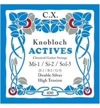 Knobloch 408kac Jeu 3 Cordes Aigues Carbone High Tension