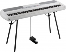 Korg Sp 280wh + Stand + Pedale